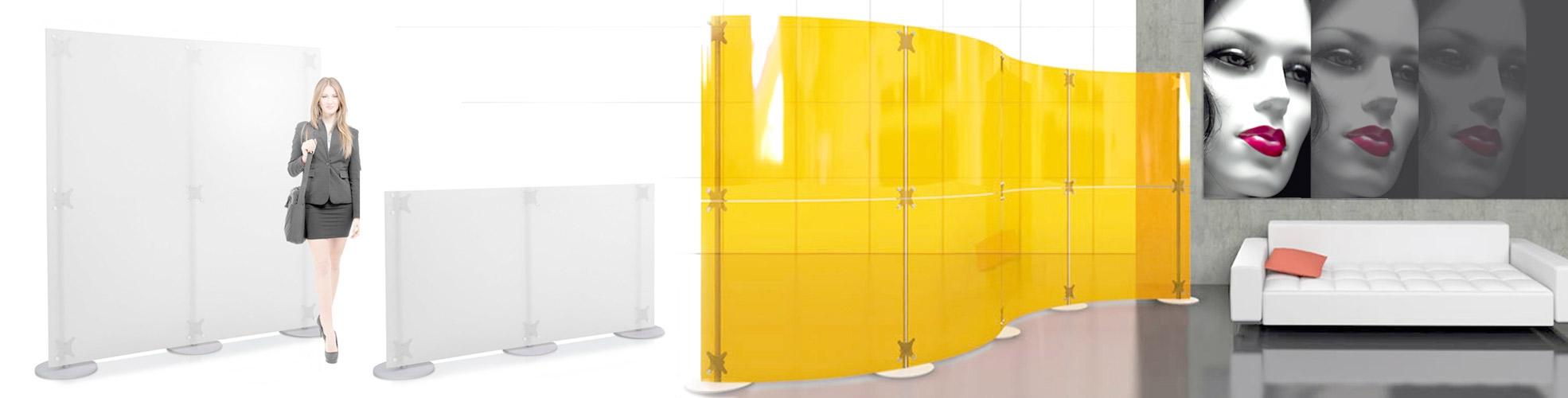 Divisori In Plexiglass Per Esterni publibeta® | pareti e pannelli divisorii - per uffici ed