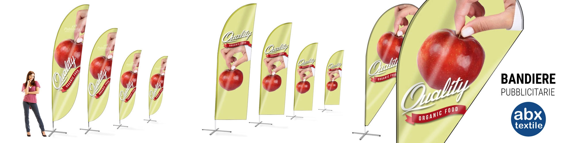 Bandiere pubblicitarie economiche