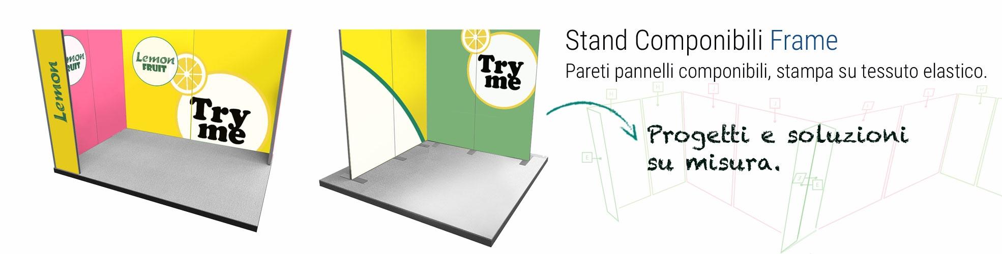 Stand modulari portatili