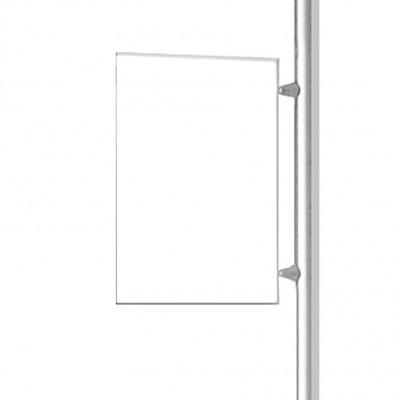 porta avviso A4 per pannello divisorio