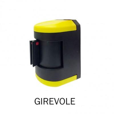 Avvolgitore GIREVOLE colore GIALLO con nastro da 4,5 metri