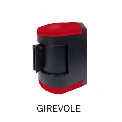 Avvolgitore GIREVOLE colore ROSSO con nastro da 4,5 metri