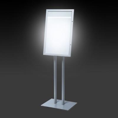 bacheca a LED autoportante porta menu per esterno
