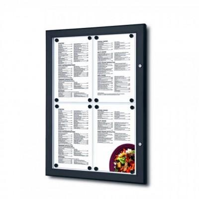 Bacheche per esterno porta menu A4