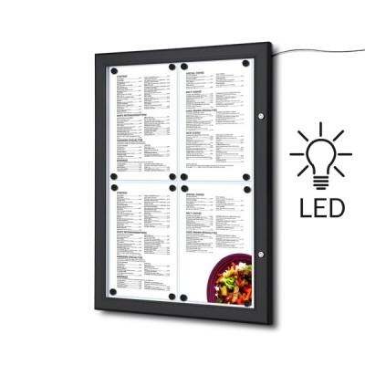 Bacheche LED per esterno porta menu A4