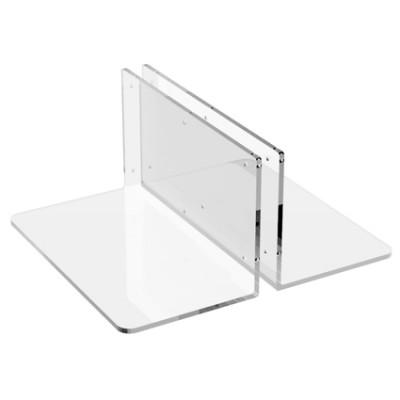 Base in plexi porta pannello rigido
