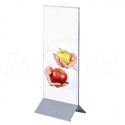 base porta pannello rigido