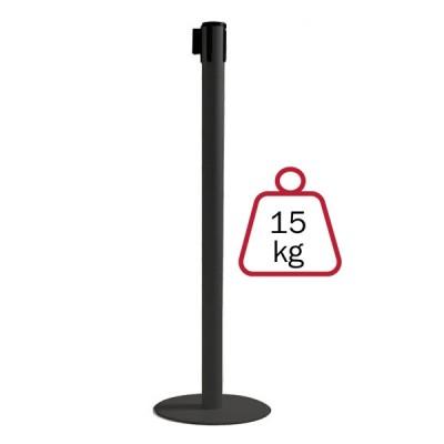 Colonnina segnapercorso NERA, 15 kg., inclusa di nastro 3 mt.