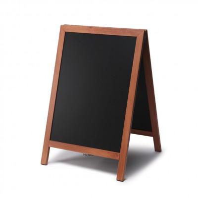 Cavalletto in legno 55x85 con lavagna scrivibile