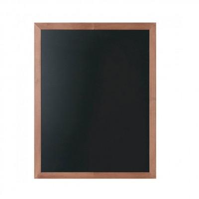 Cornice in legno 500x600 mm con lavagna scrivibile