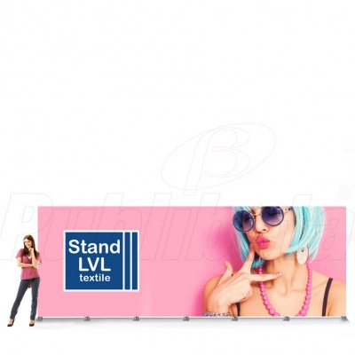 Stand portatile 600x240 cm LVL