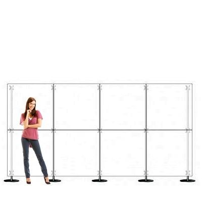 Parete divisoria pannello divisorio 4x2 plexiglass