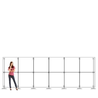 Parete divisoria pannello divisorio in plexiglass 6x2 mt