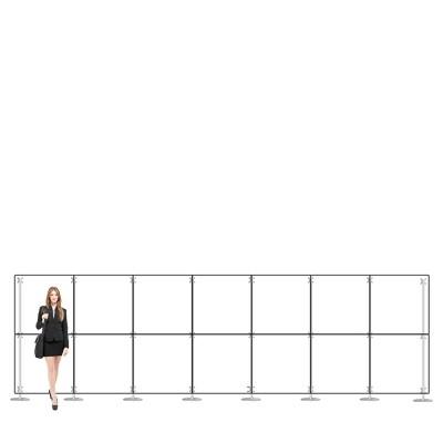 Parete divisoria pannello divisorio in plexiglass 7x2 mt