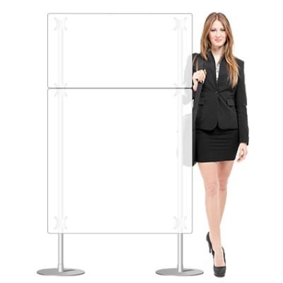 Parete divisoria 100x170 per uffici, negozi, ambienti interni