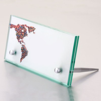 DIstanziale in alluminio da banco