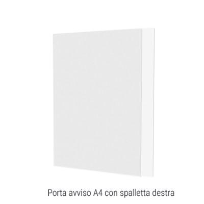 Tasca in plexi porta avviso A4 verticale