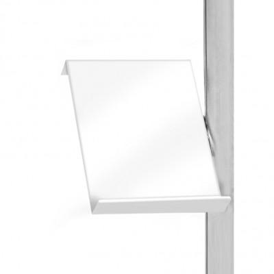 Ripiano portadepliant A4 per pannello divisorio