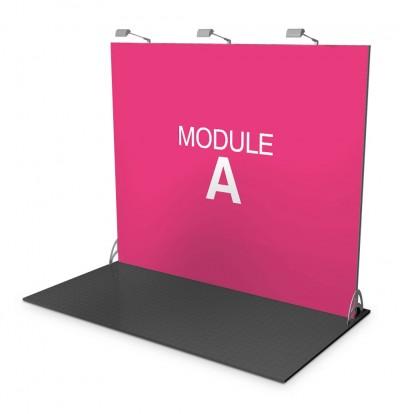 Stand modulare - Parete 3x2,5 mt