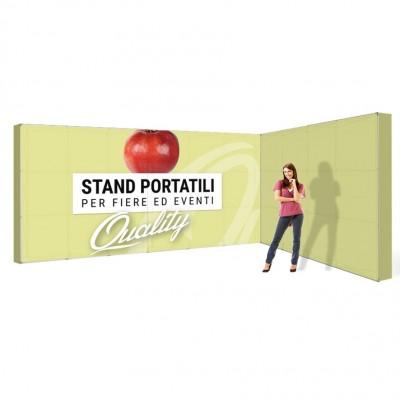 Stand portatile fiera 5x3