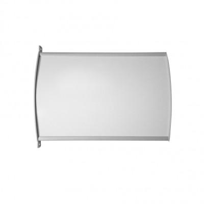Targhe a bandiera in alluminio Linea BETA2 - grande formato