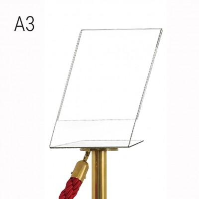 Porta comunicazioni A3 verticale per colonnina a cordone