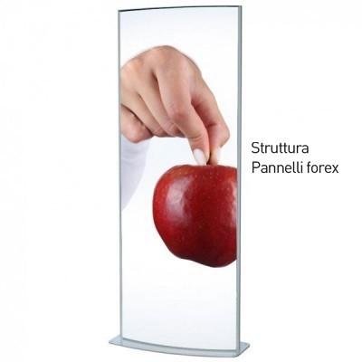 Totem pubblicitario 250 cm