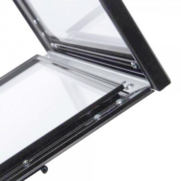 bacheca autoportante porta menu LED