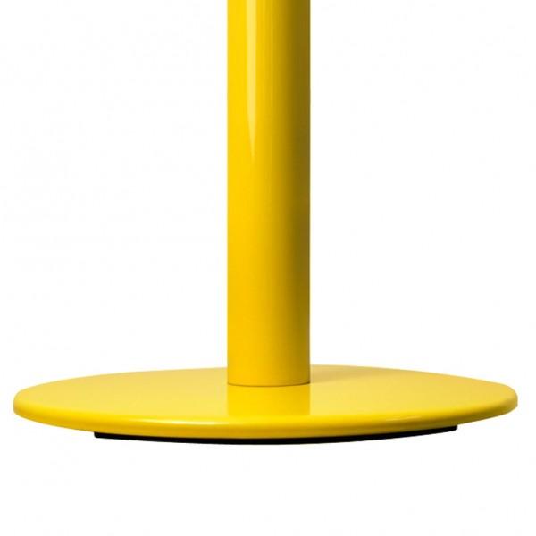 Colonnina segna percorso gialla