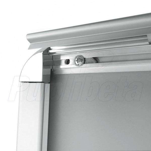 Cornici a scatto da parete angolo tondo profilo 32