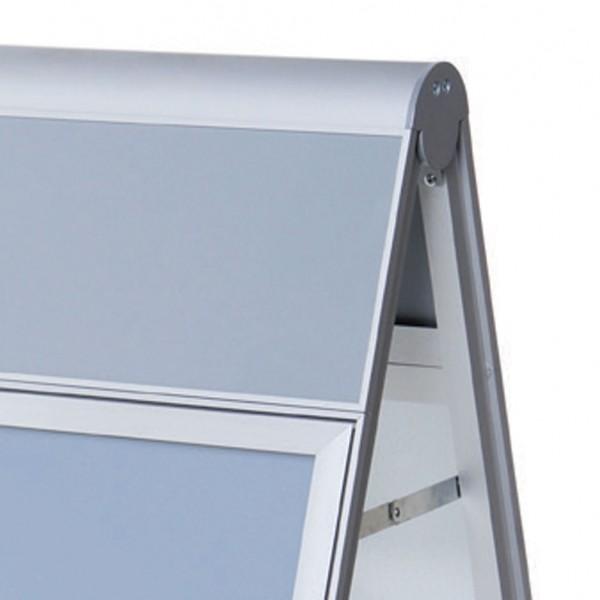 Cavalletto alluminio con spazio logo