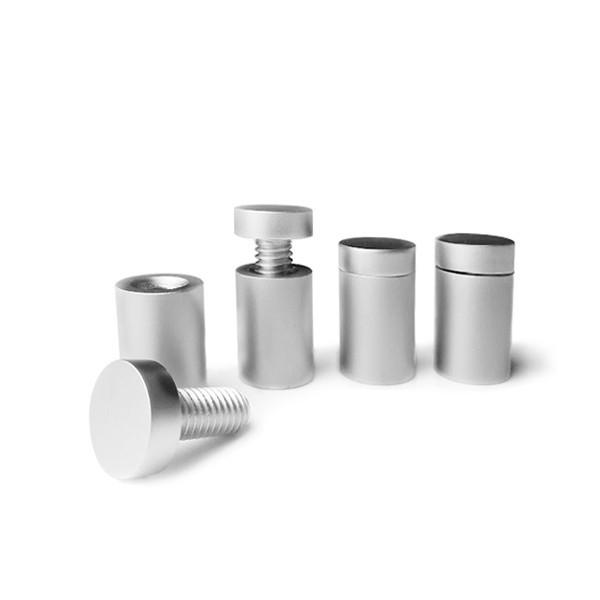 Distanziale alluminio satinato