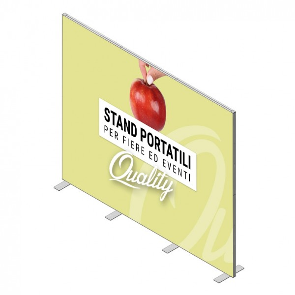 Parete Stand 300x200 cm - STAMPA UNICO TELO (Default)