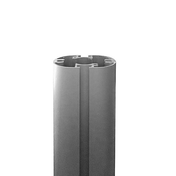 pannello divisorio con metallo microforato