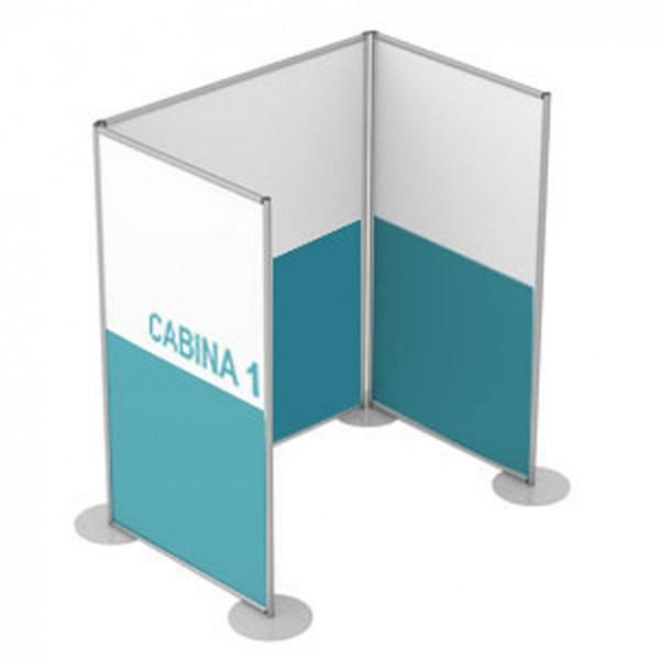 Pannelli divisori componibili a cabina small