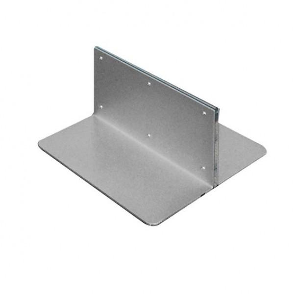 Base porta pannello rigido TS1 in metallo verniciato