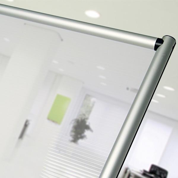 pannello divisorio in policarbonato semitrasparente per uffici