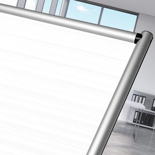 pannello divisorio in policarbonato bianco per uffici