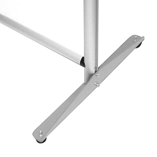 Pannello divisorio cm 100x190. Fronte in feltro, retro bianco magnetico