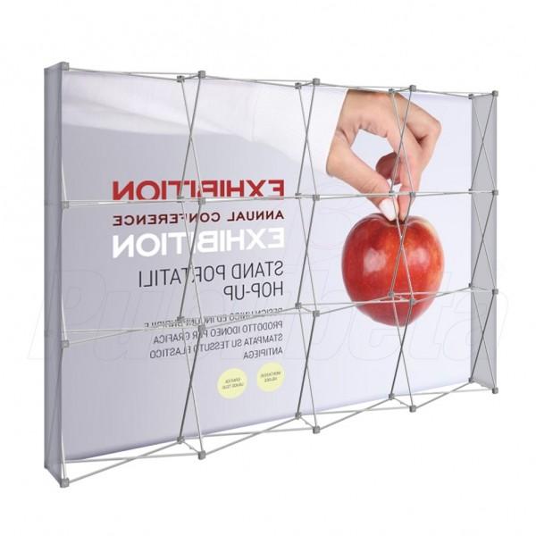 Stand portatile per fiera Hopup 3x4 moduli
