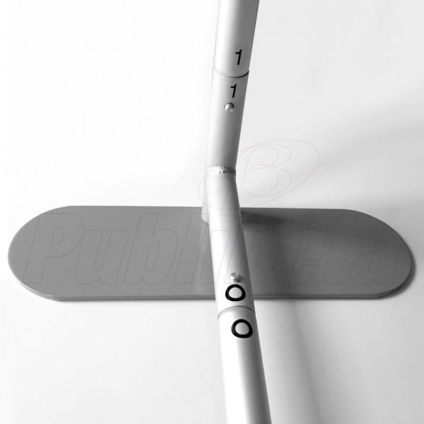 stand portatile per fiera dritto 4 metri