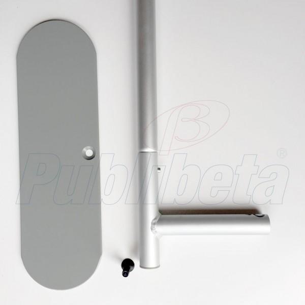 stand portatile per fiera dritto 5 metri
