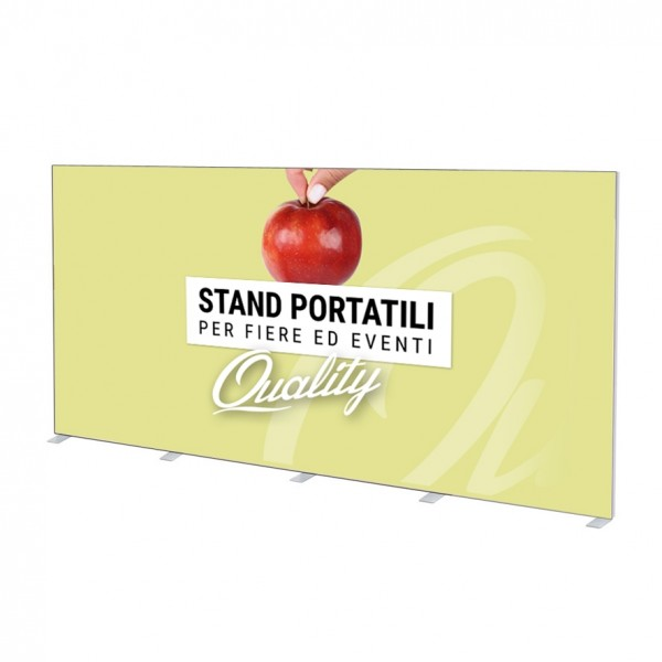 Stand Parete Stand 500x200 cm - STAMPA UNICO TELO