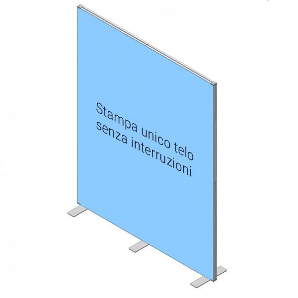 Stand Parete 200x250 cm - FRAME VCT
