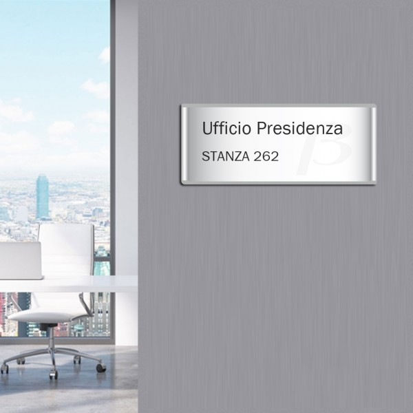 targa segnaporta per ufficio da muro segnaletica per ufficio
