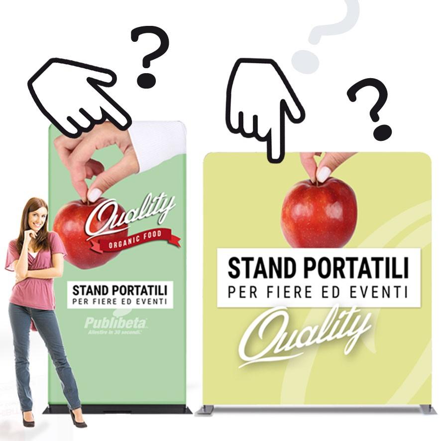 Stand espositivi per fiere, portatili. Scegliere al meglio online