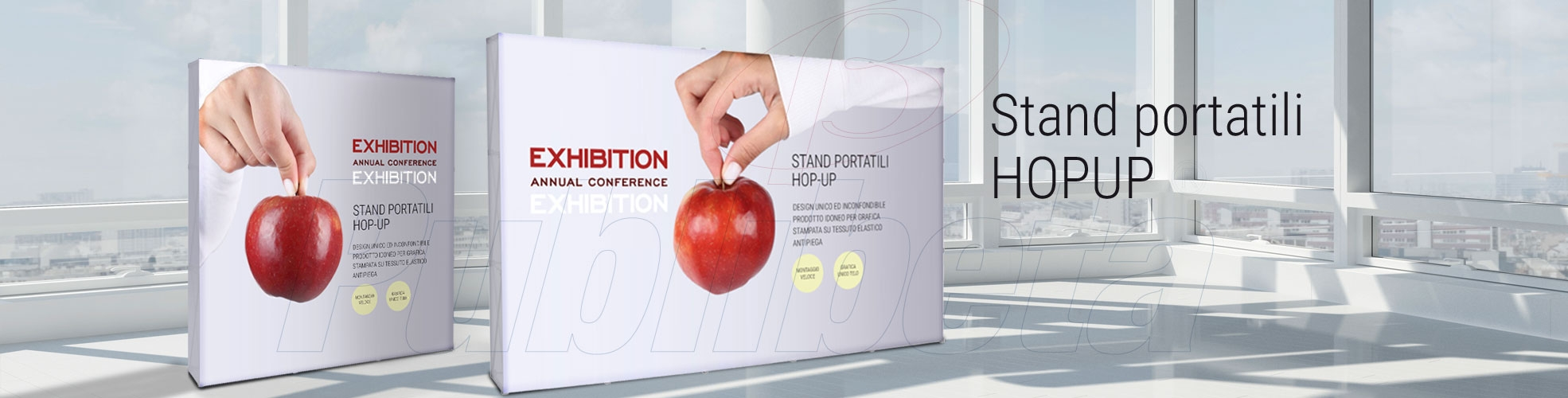 stand portatili hopup