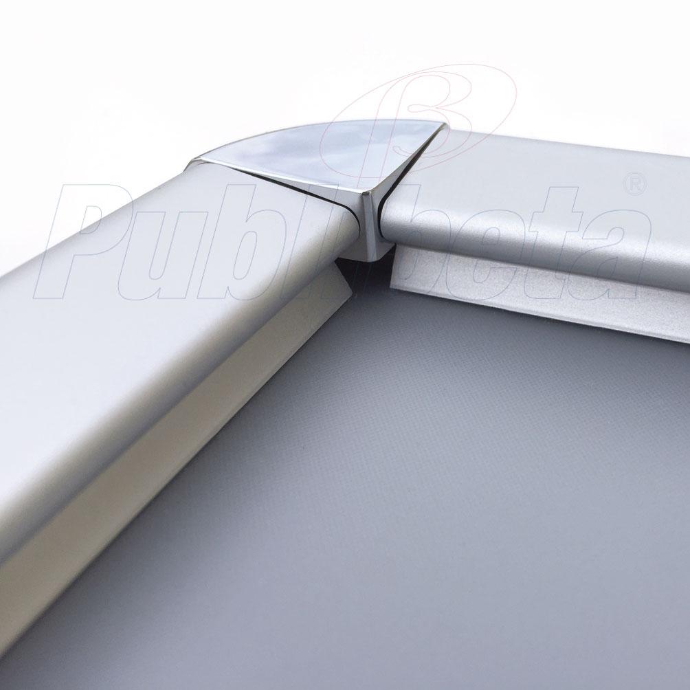 cornici a scatto in alluminio 100x140