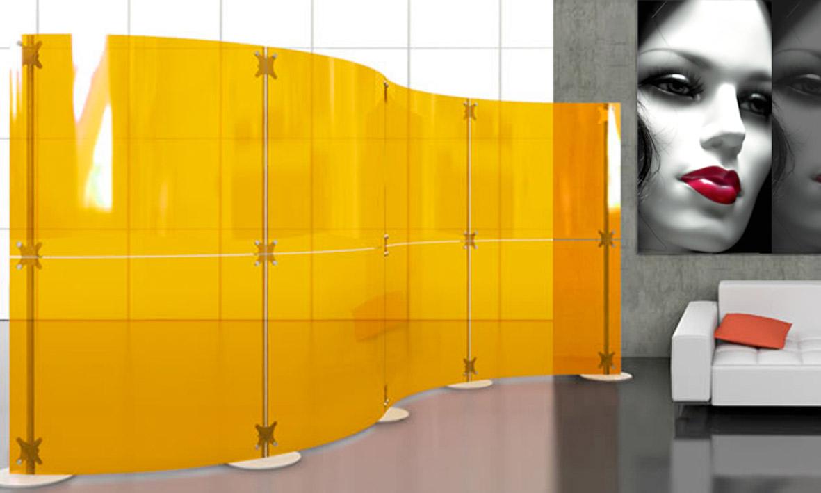 Pareti divisorie pannelli divisori per ambienti interni