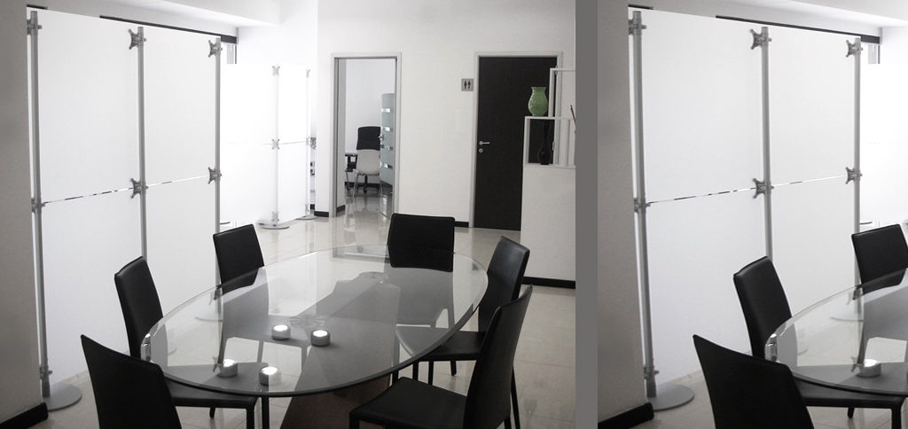 pareti divisorie per studi professionali
